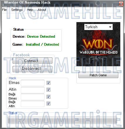 Warrior Of Nemesis Hack Tool 2013 Download