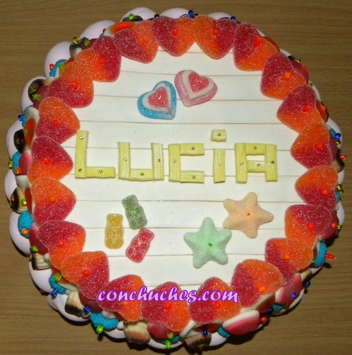 Tarta para Lucía