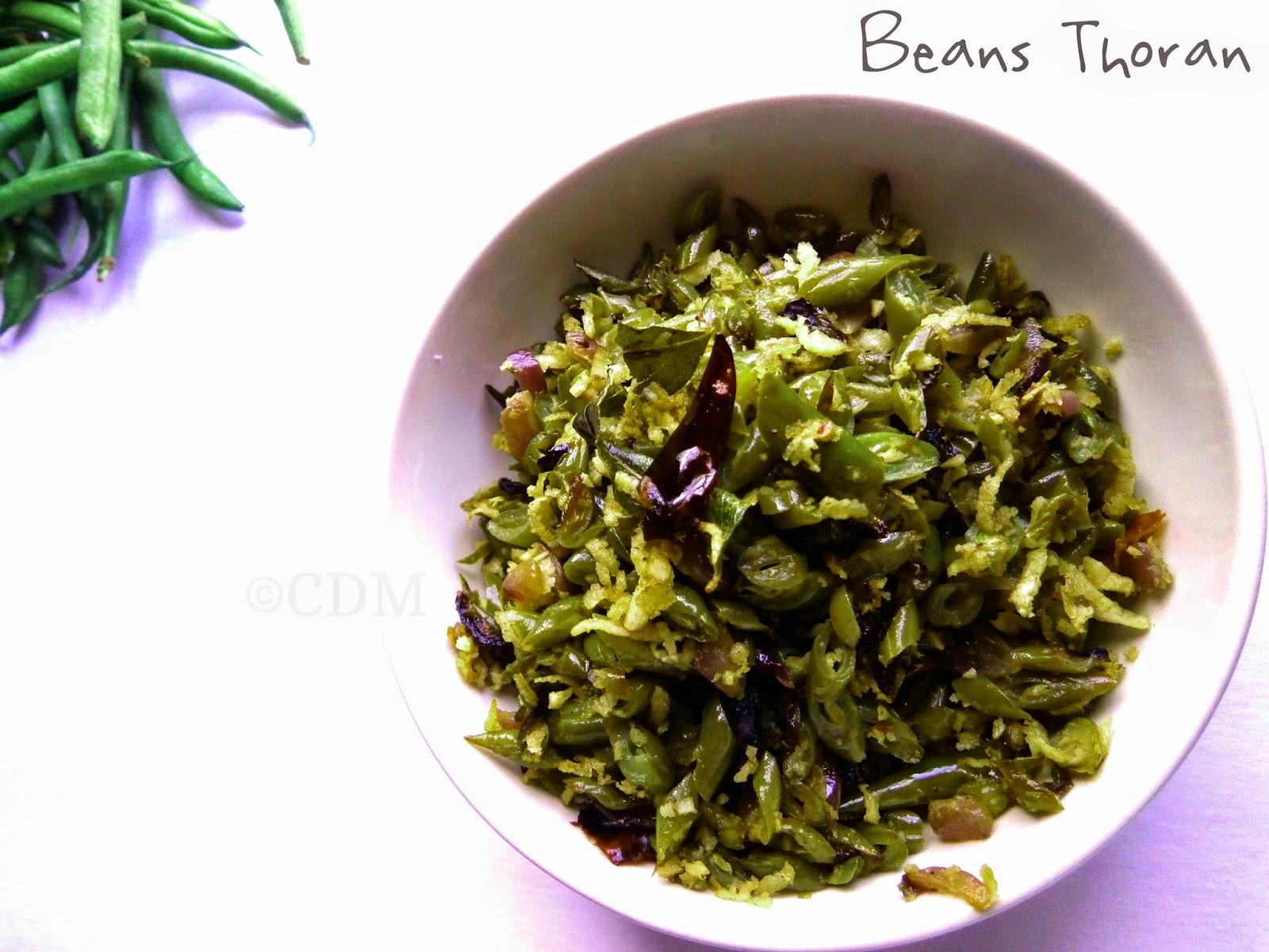 beans_thoran_kerala_style