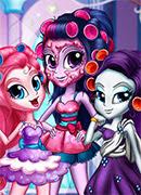 Девочки Кантерлоте - Онлайн игра для девочек
