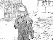 Chuvy en caricatura de los 80