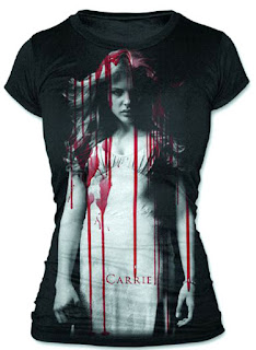 Carrie Movie T-shirt for girls
