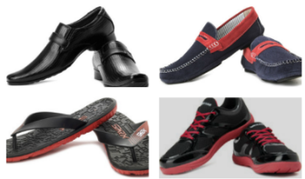 Get Men's Footwears and Accessories at Flat 60% off (Diesel, Clarks, Free Culter, GAS, San Frissco) at Flipkart