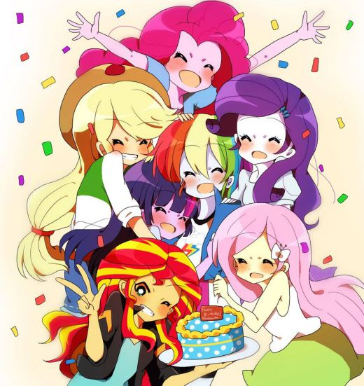 Happy Birthday Rainbow Dash - Friendship Is Magic