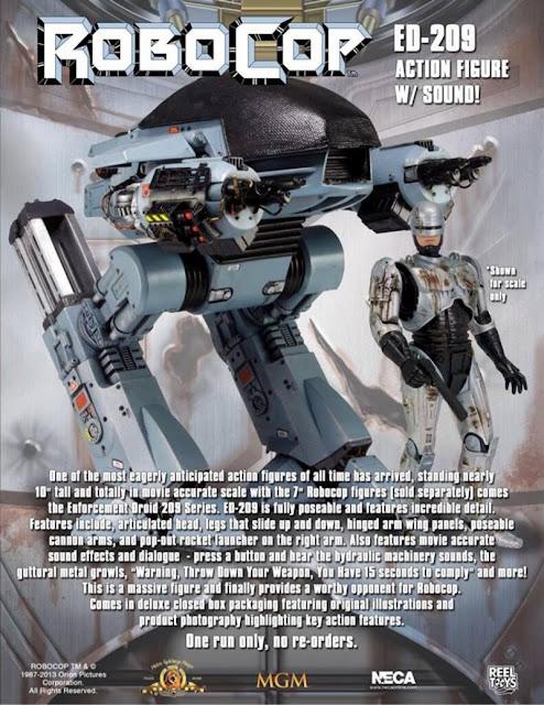 NECA Robocop ED-209 Deluxe Talking Figure