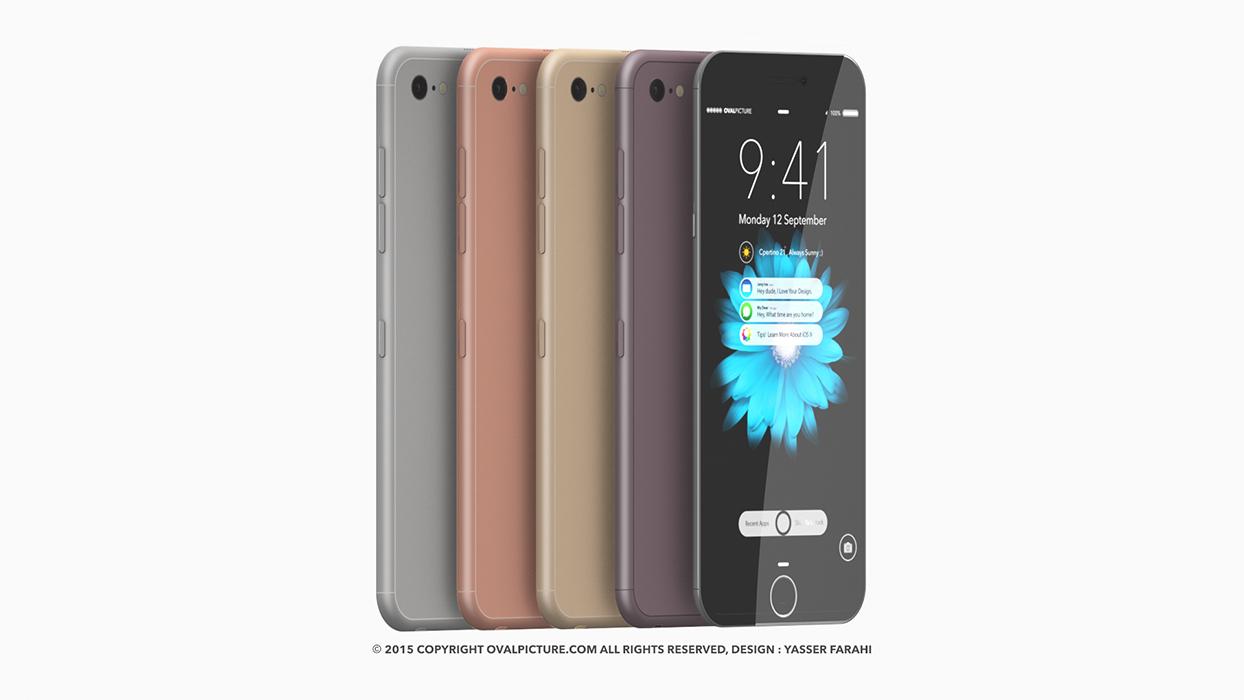 pilihan warna iPhone 7