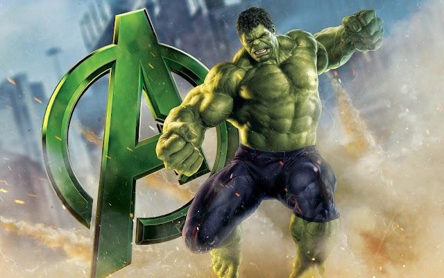Avengers Movie Hulk HD poster