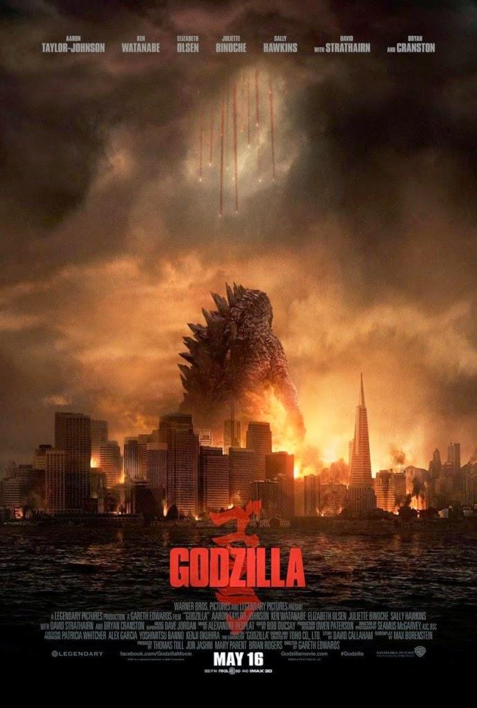 Quái Vật Godzilla 2 - Godzilla 2 (2014) Poster