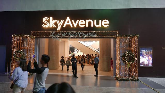 马来西亚-云顶大型百货公司Sky Avenue