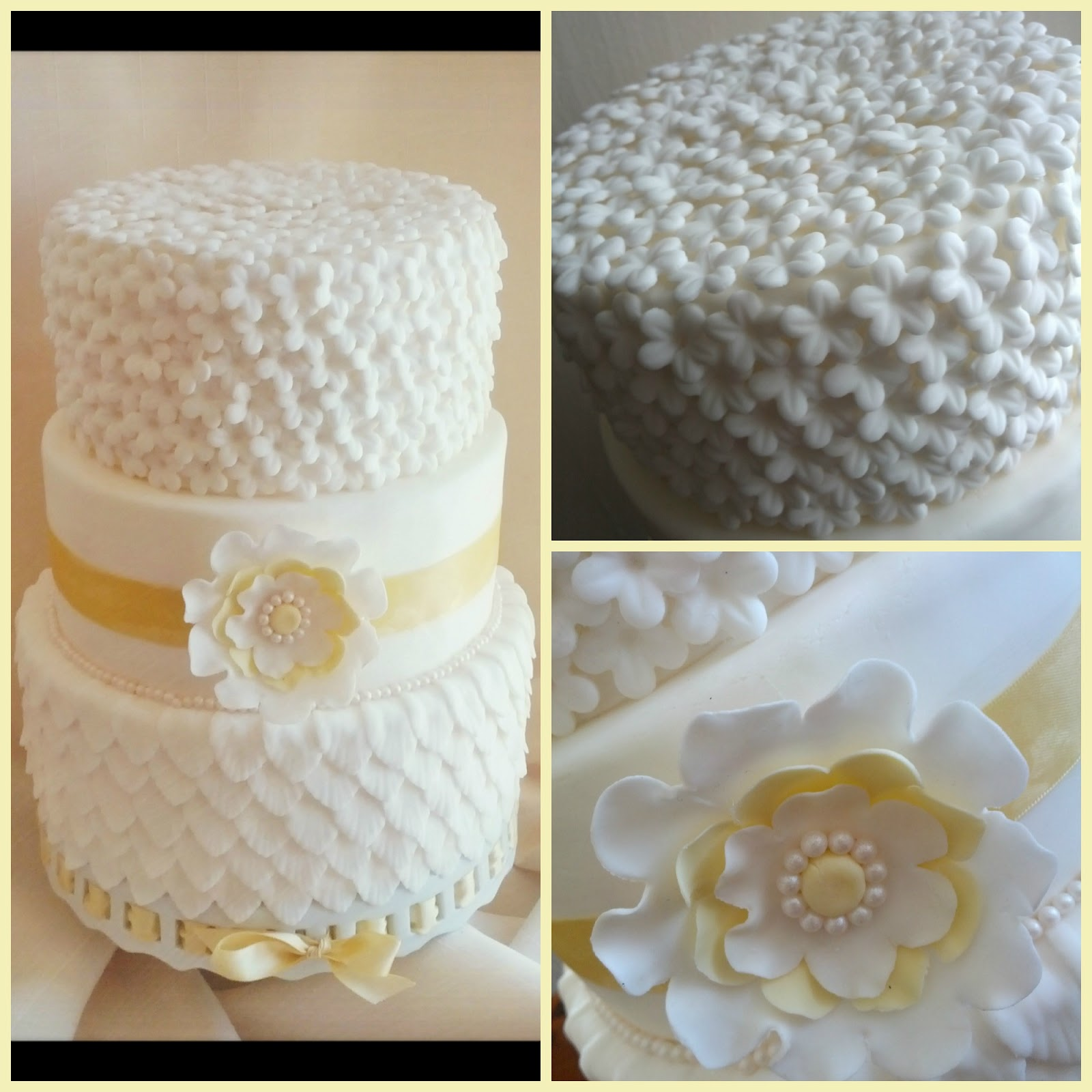 Second Generation Cake Design: Spring Wedding Cake