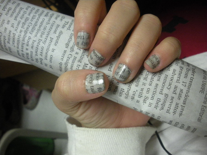newspaper_nails_by_nailbiter6652-d32nym0