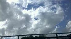 Nossa nuvem de coração...