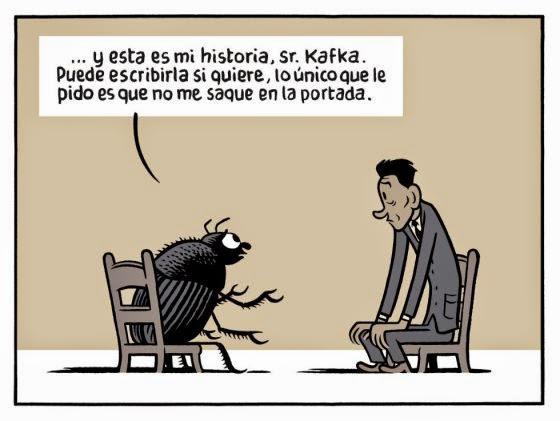 Kafka y Gregorio Samsa
