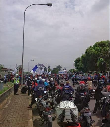 Berikut 3 opsi dalam voting penetapan UMK Kota Bekasi 2014, yaitu: