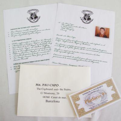 Carta de Ingreso en Howards