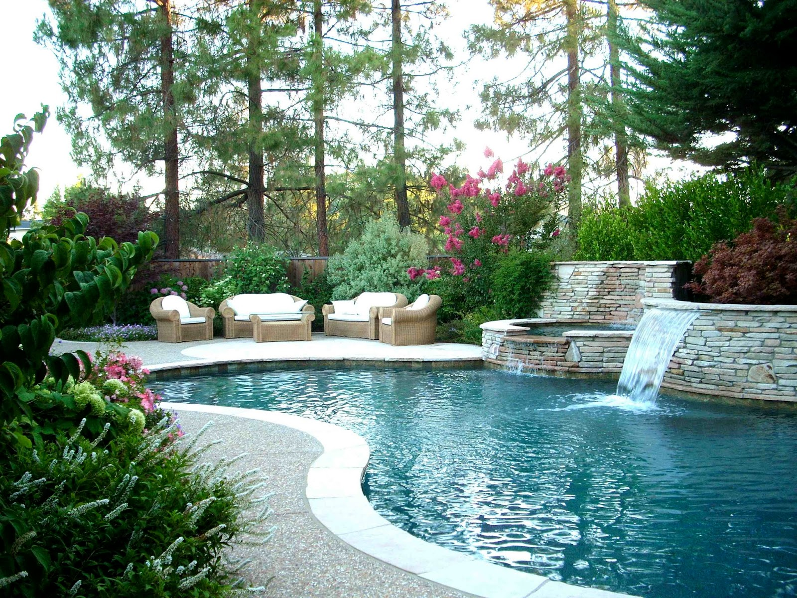 Cool Contemporary Swimming Pool Combined