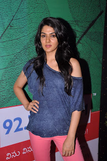 Actress Sakhi Chowdary Pictures in Tight Jeans at Green Ganesh 0008.jpg