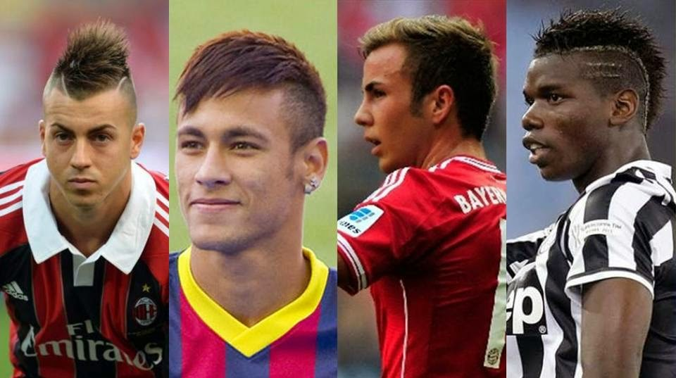 Stephan El Shaarawy, Neymar, Mario Gotze, Paul Pogba