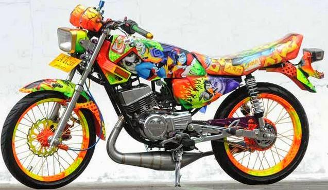kumpulan modifikasi motor rx king paling keren