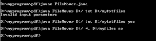 move files in java