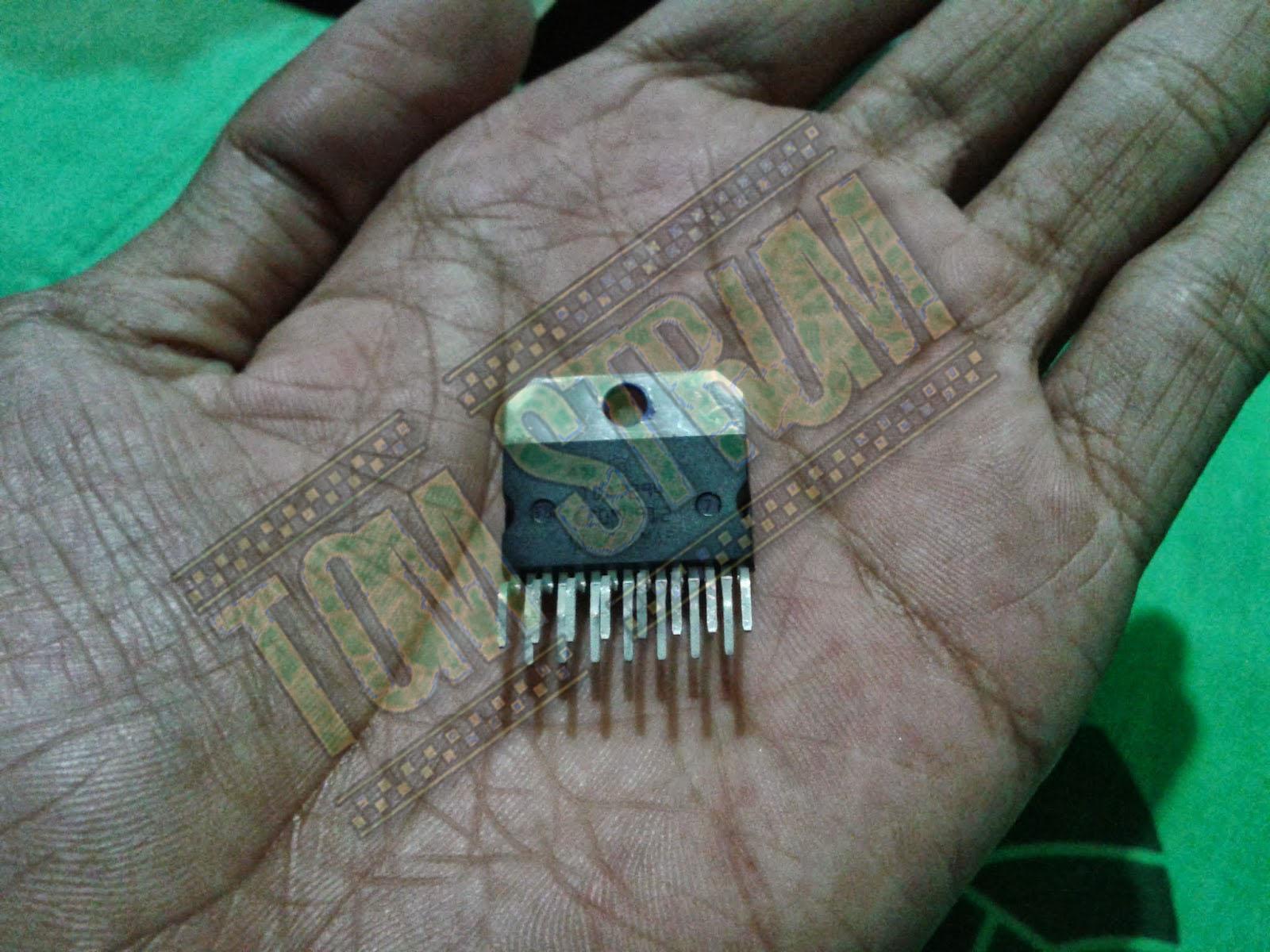 Haryo Toms Tda 7295 7294 Watt Audio Power Amplifier Circuit Using Tda2613 R 1 Ohm 5 Buah Atau 2 Diparalel Kapasitor Mkmmkp 22uf Elco 47uf Jika Tak Adajangan Gunakan Mylar