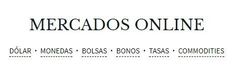 MERCADOS ONLINE