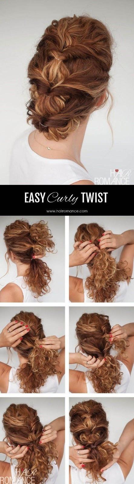 Tutorial penteado cabelo cacheado