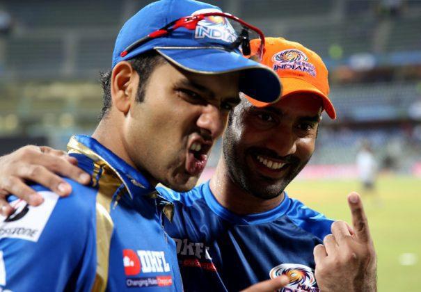 Dinesh-Karthik-Rohit-Sharma-MI-vs-DD-IPL-2013