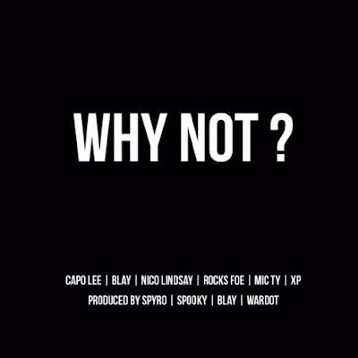 Why Not Mixtape cover - Capo Lee, Spooky, Sir Spyro, Mic Ty, Rocks FOE, Wardot, Blay, Nico Lindsay, XP