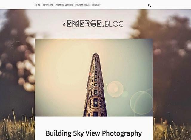 Emerge Responsive Blogger Template