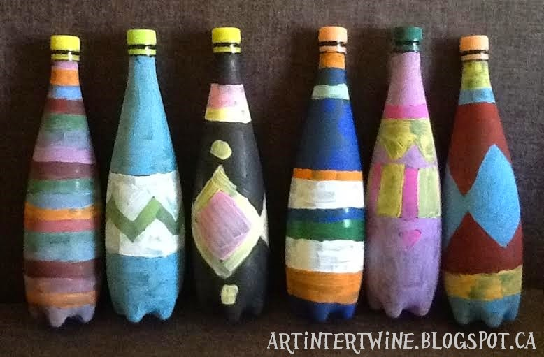 Art Intertwine - D.I.Y. Circus Lawn Bowling Pins or Carnival Ring Toss Game