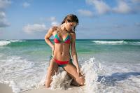 Daniela Lopez Osorio hot in sexy bikini body photo shoot Mia Marcelle Swimwear Models