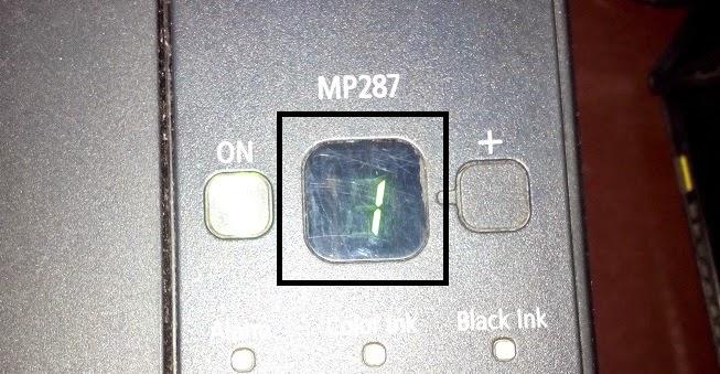 Cara Mengatasi Error 04 Pada Printer Canon MP287
