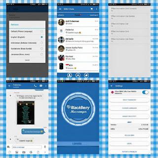 BBM Mod Mix Blue V2.10.0.35 Apk