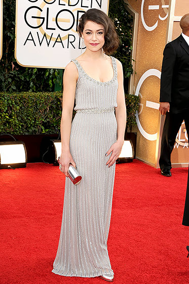 Tatiana Maslany in Golden Globes 2014