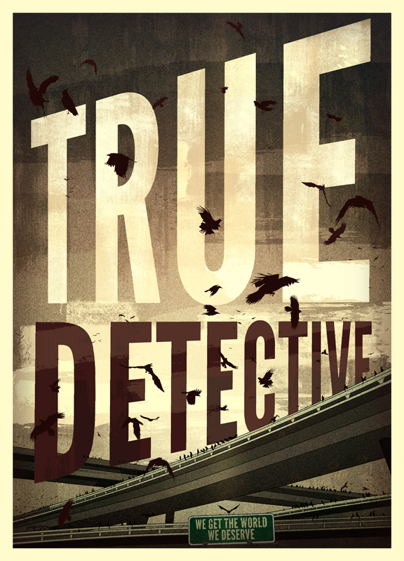 Poster Illustration True Detective