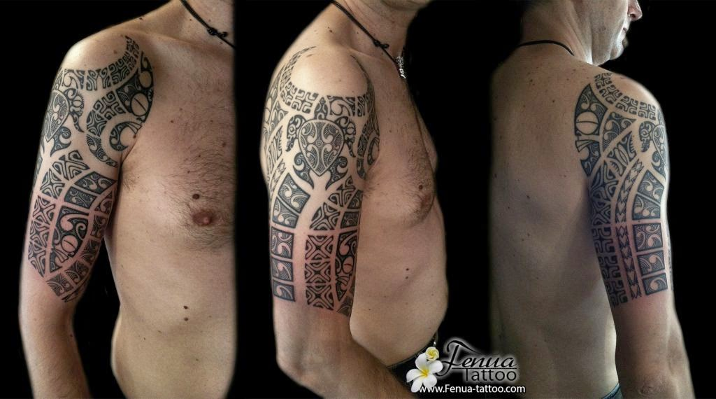 Photo Tatouage tribal sur l'épaule d'un homme Gentside - Tatouage Tribal Homme Epaule