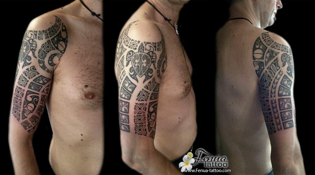 Photo Tatouage tribal sur l'épaule d'un homme Gentside - Tatouage Tribal Épaule Homme