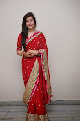 Priyal Gor Dazzling in Red Saree-thumbnail-10