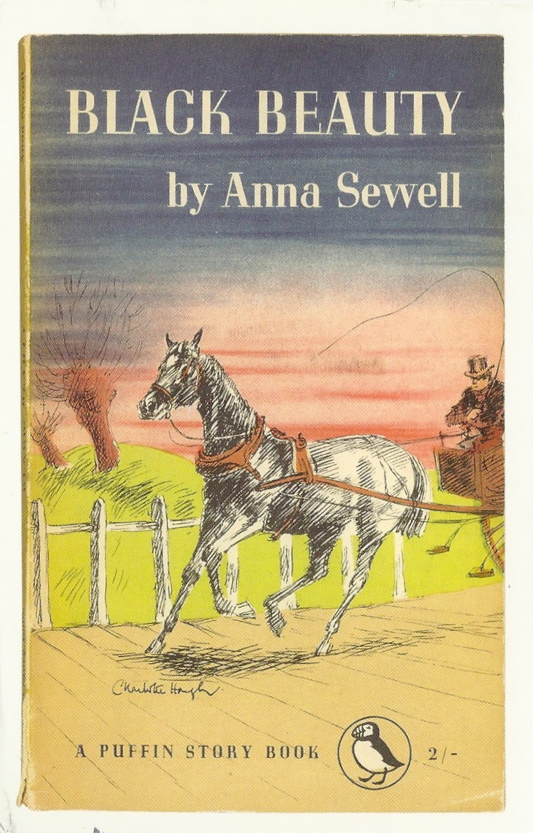 Book Cover Of Black Beauty : My favorite animal postcards black beauty book cover