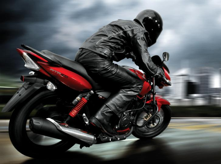 TVS Apache RTR 180 performance road bike