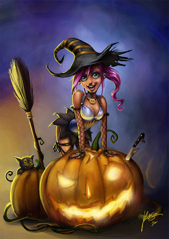 fantasy girl Halloween 