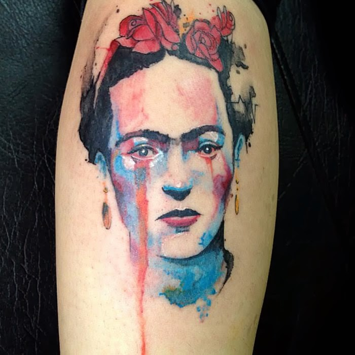 Watercolor tattoos damn cool pictures for Cool watercolour