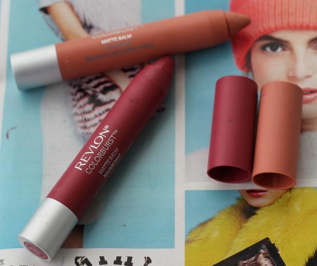 Revlon Colourburst Matte Balm, lip crayon, shade, sultry, complex