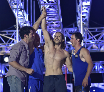 "Issac Calierio won the title of ""American Ninja Warrior"" on September 14, 2015."