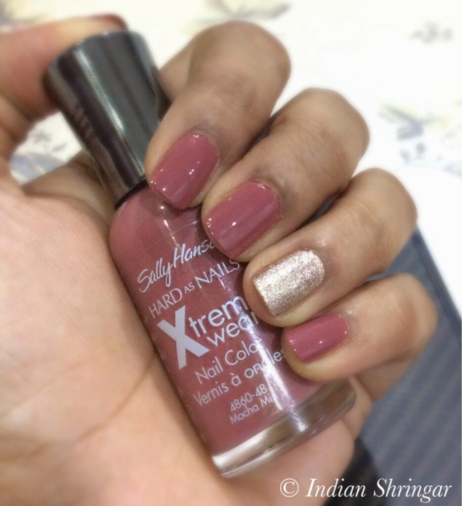 Sally Hansen Xtreme Wear Mocha Mix swatches