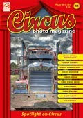 NEW! CIRCUS PHOTO MAGAZINE.