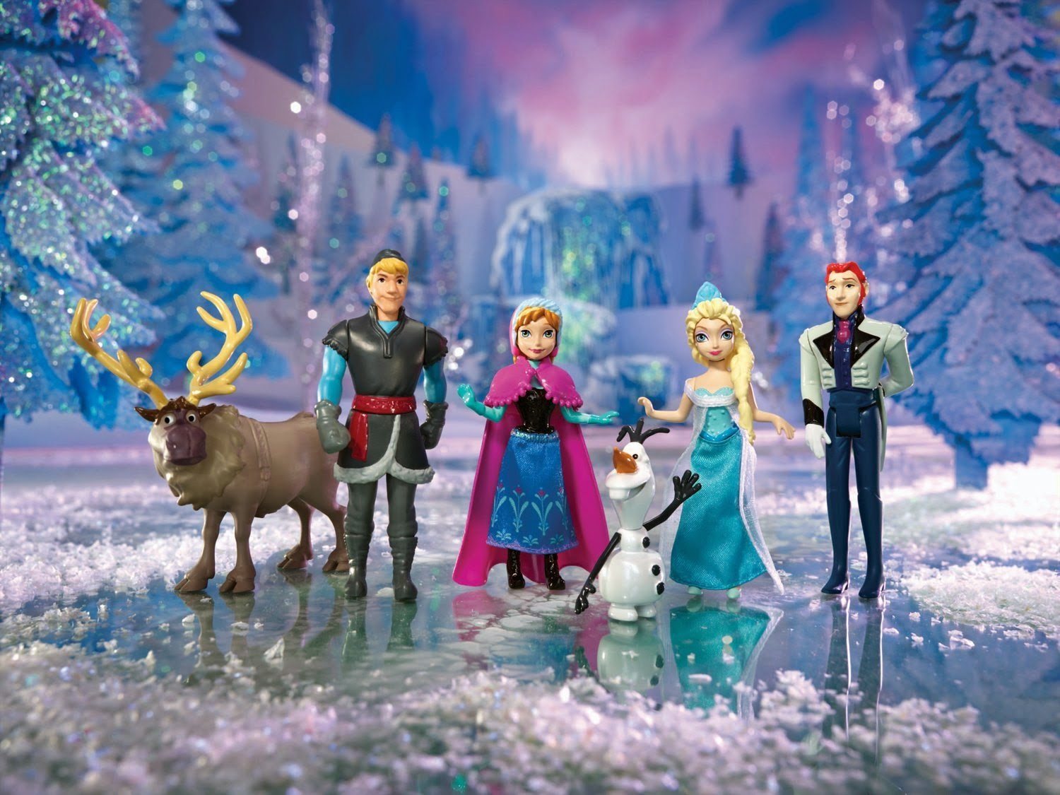 Frozen Doll Playset