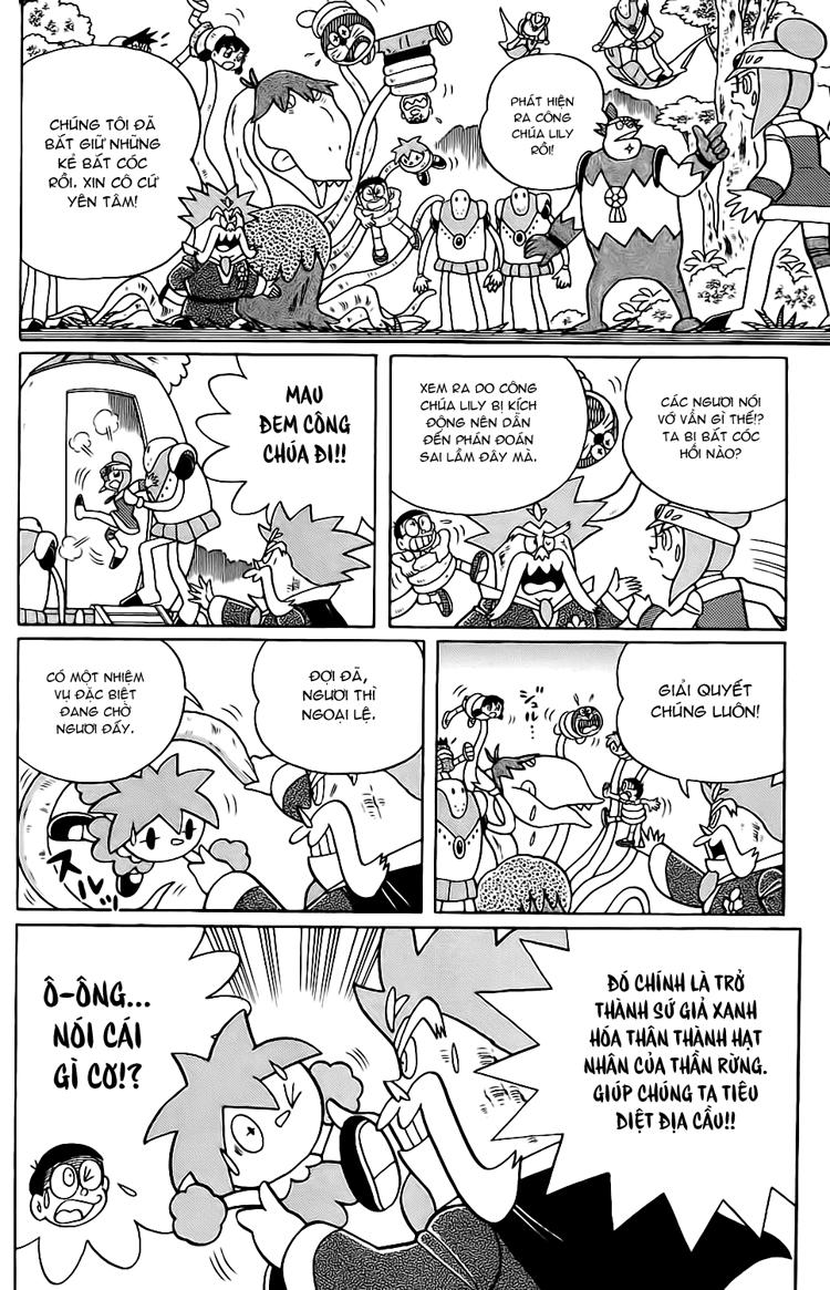 Truyện tranh Doraemon Dài Tập 25 - Nobita và truyền thuyết thần rừng trang 184