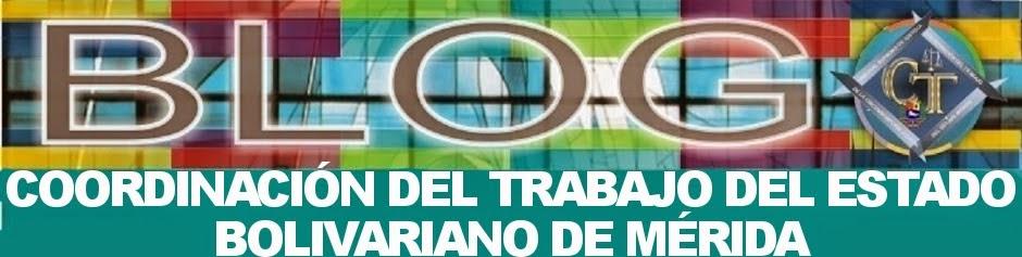 COORDINACIÓN DEL TRABAJO DEL ESTADO BOLIVARIANO DE MÉRIDA